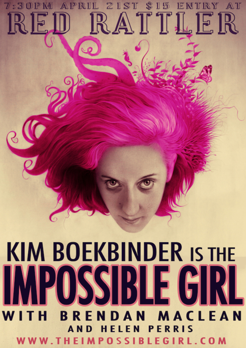 Kim Boekbinder, supported by Brendan MacLean and Helen Perris