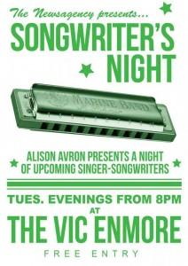 Songwriter Night Vic Hotel